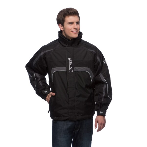 Mossi Men's 'Appex' Black Cold Weather Jacket