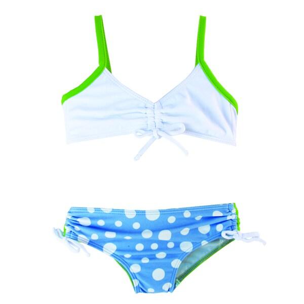 Azul Swimwear Dippin Dots Bandeau Bikini