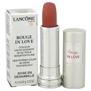 Lancome Rouge In Love High Potency Color #240M Rose en Deshabille Lipstick