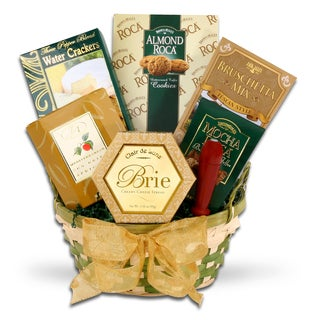 Pleasant Holiday Wishes Gourmet Food Gift Basket