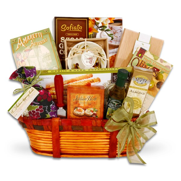 Italian Delights Gourmet Food Gift Basket