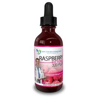 Raspberry Ketone 320 Plus Liquid Drops 4-ounce Bottle