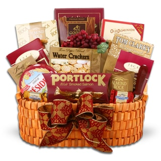 Corporate Greetings Gift Basket