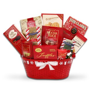 Bucket of Holiday Cheer Gift Basket
