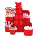 Peppermint Holiday Gift Tower