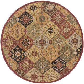 Artistic Weavers Thelma Traditional Border Area Rug (3'6 Round)