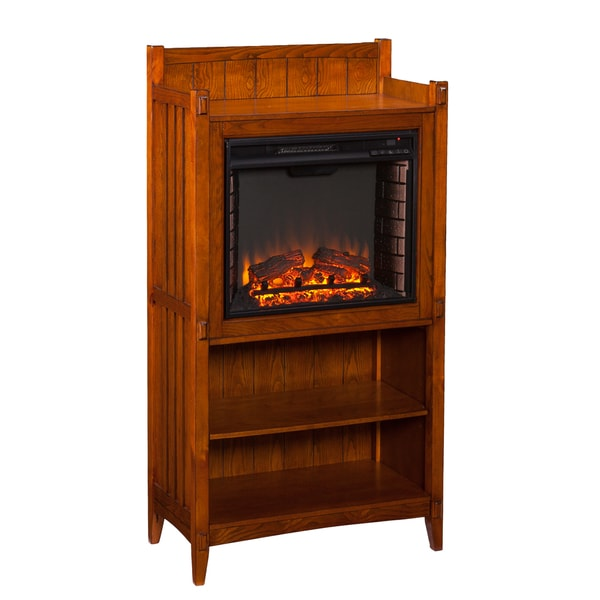 Upton Home Fowler Mission Oak Fireplace Tower