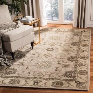 Safavieh Handmade Anatolia Beige/ Beige Wool Rug (5' x 8')