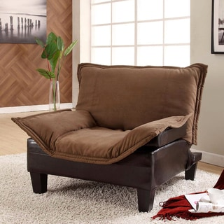 Furniture of America Empress Convertible Two-Tone Chair