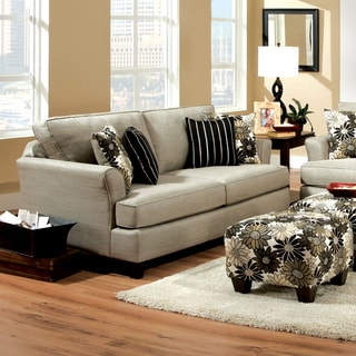 Furniture of America Florise Contemporary Plush Sofa