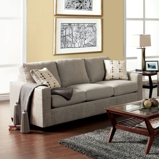 Furniture of America Welzer Chic Upholstered Sofa