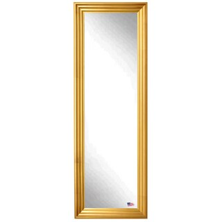 American Made Rayne Vintage Gold 25 x 63 Full Body Mirror
