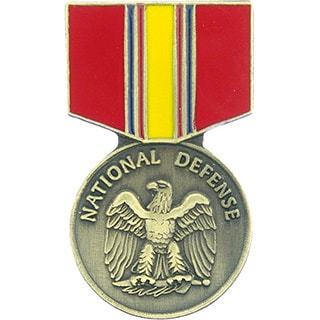 National Defense Service Medal Pin