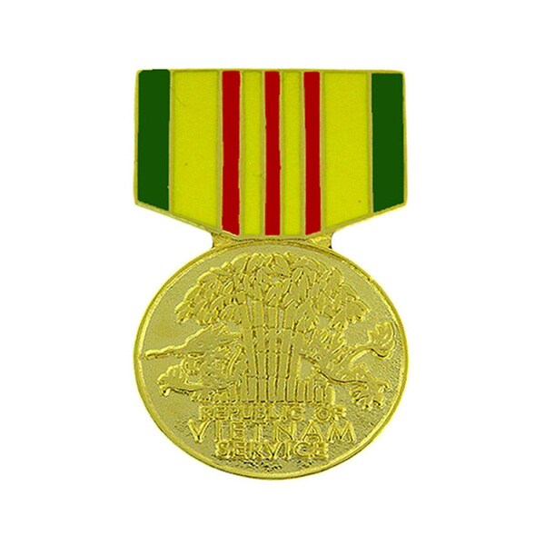 Republic of Vietnam Service Medal Pin