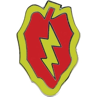 United States Army 025th Infantry Division Pin