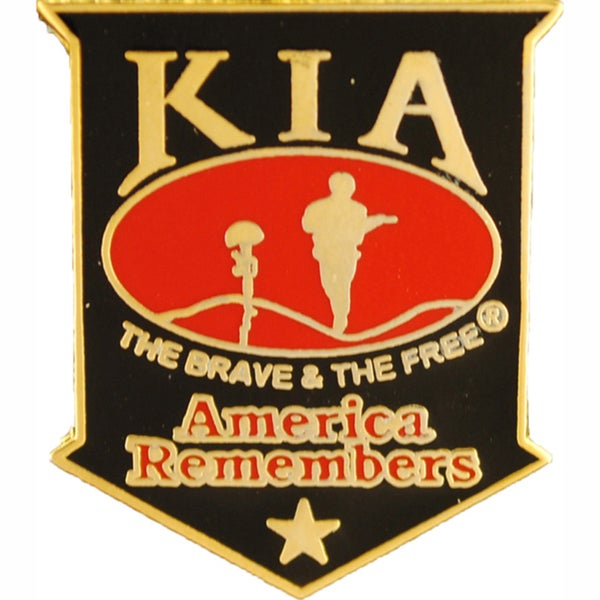 KIA America Remembers Black Pin