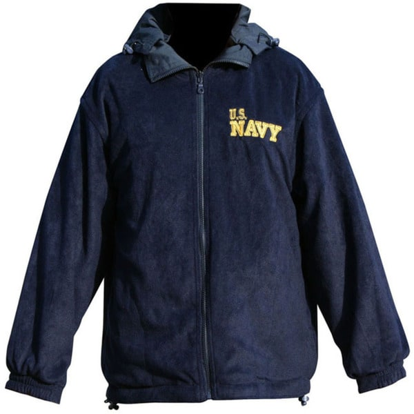 US Navy Logo Detachable and Reversible Jacket