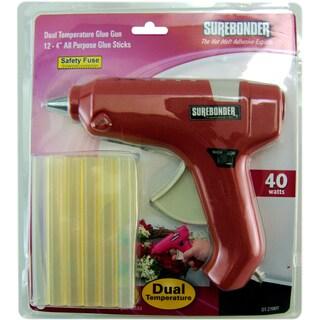 Dual-Temp Glue Gun Kit-Red