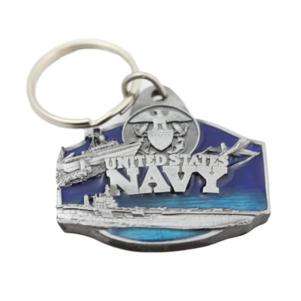 US Navy Military Keychain