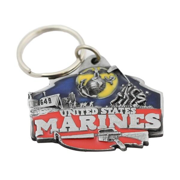 US Marines Military Keychain