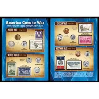 American Coin Treasures America Goes to War