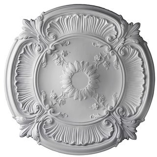 30-Inch Round Antique Ceiling Medallion by Gaudi Decor R120