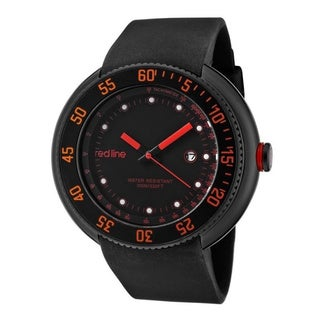 Red Line Men's RL-50039-BB-01-RA Driver Black Dial Watch
