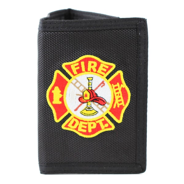Fire Department Logo Trifold Wallet