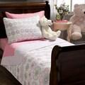 Lola Floral Cotton 2-piece Quilt Set