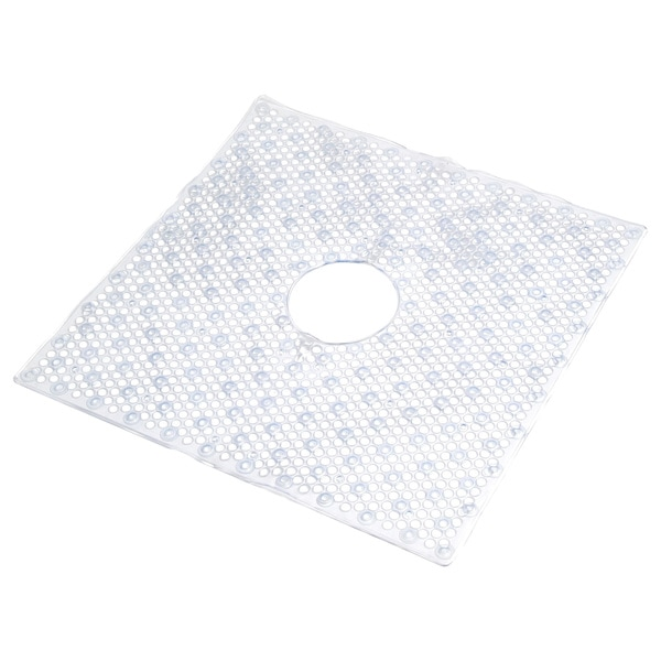 Con-Tact Clear Bubble Shower Mat (Set of 4)