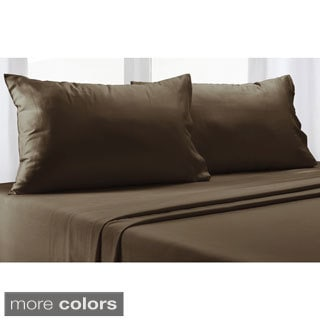 Luxury Pima Cotton 350 Thread Count Sheet Set with Bonus Pillowcases