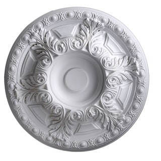 24-Inch Round Antique Ceiling Medallion by Gaudi Decor R301