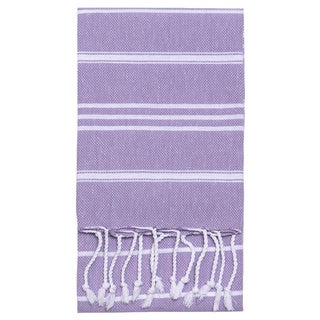 Striped Fouta Hand Towel
