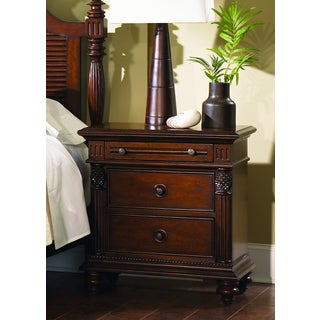 Liberty Royal Landing Cherry 3-Drawer Nightstand