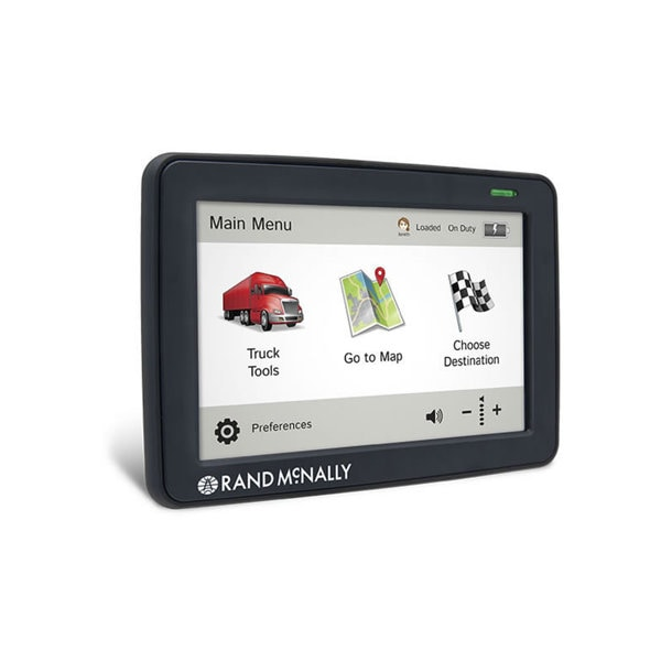 Rand McNally TND530 LM Truck GPS with Lifetime Maps and Wi-Fi