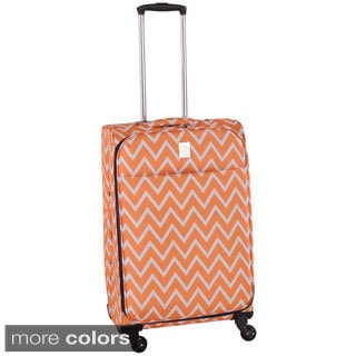 Jenni Chan Aria Madison Ultralite 28-inch Large Spinner Upright Suitcase