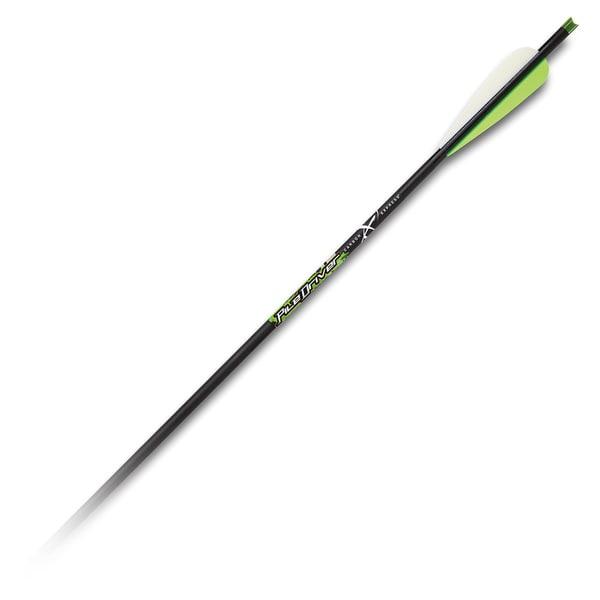 Carbon Express Piledriver 22-inch Crossbolt, 6-pack Moon Nock