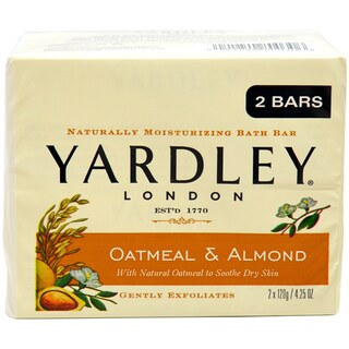 Yardley London Oatmeal and Almond 4.25-ounce Soap