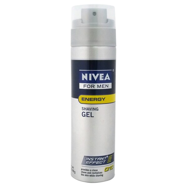 Nivea for Men Q10 Double Action Revitalizing 7-ounce Shaving Gel