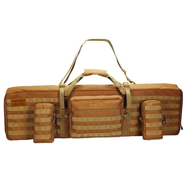 Timber Ridge 42-inch Coyote Tan Double Tactical Case