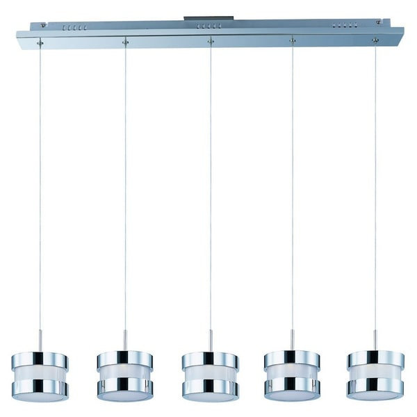 Disco 5-light Linear Pendant