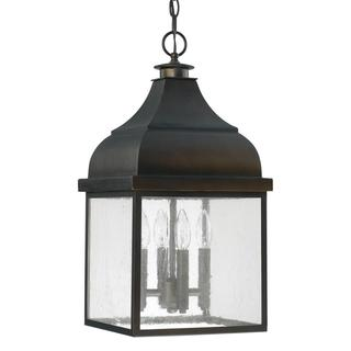 Westride 4-light Outdoor Hanging Lantern in Old Bronze