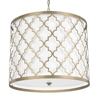Ellis 5-light Pendant in Brushed Gold finish