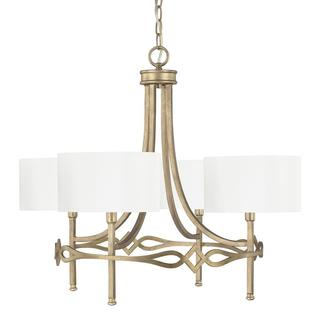 Capital Lighting Landry Collection 4-light Brushed Gold Chandelier
