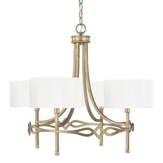 Landry 4-light Chandelier in Brushed Gold