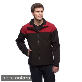 Izod Men's Fleece-lined Water Resistant Soft Shell Jacket