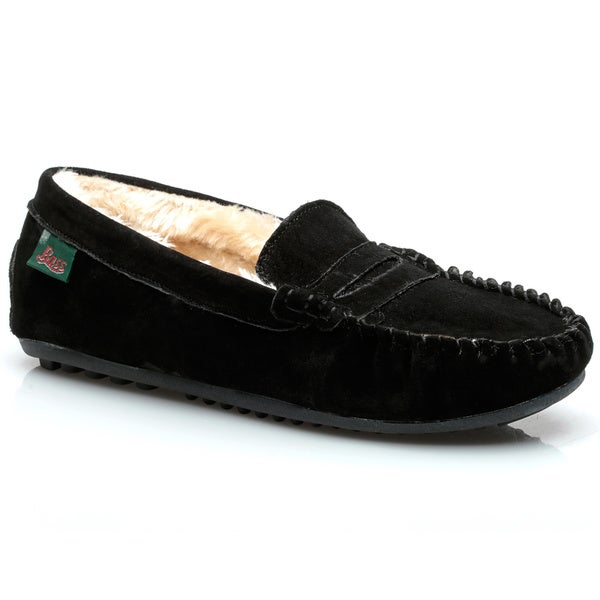 G.H Bass and Co. Men's Genuine Suede Slippers
