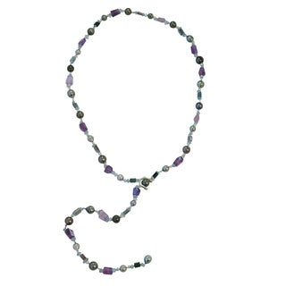 Tahitian and Keshi Akoya Pearl DARE Necklace