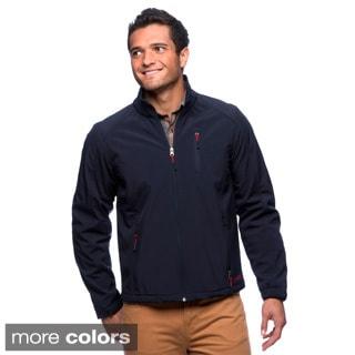 Izod Men's Fleece-lined Soft Shell Jacket