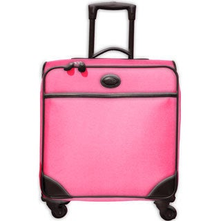 Brics Pronto 20-inch Pink Wide-body Carry On Spinner Upright Suitcase